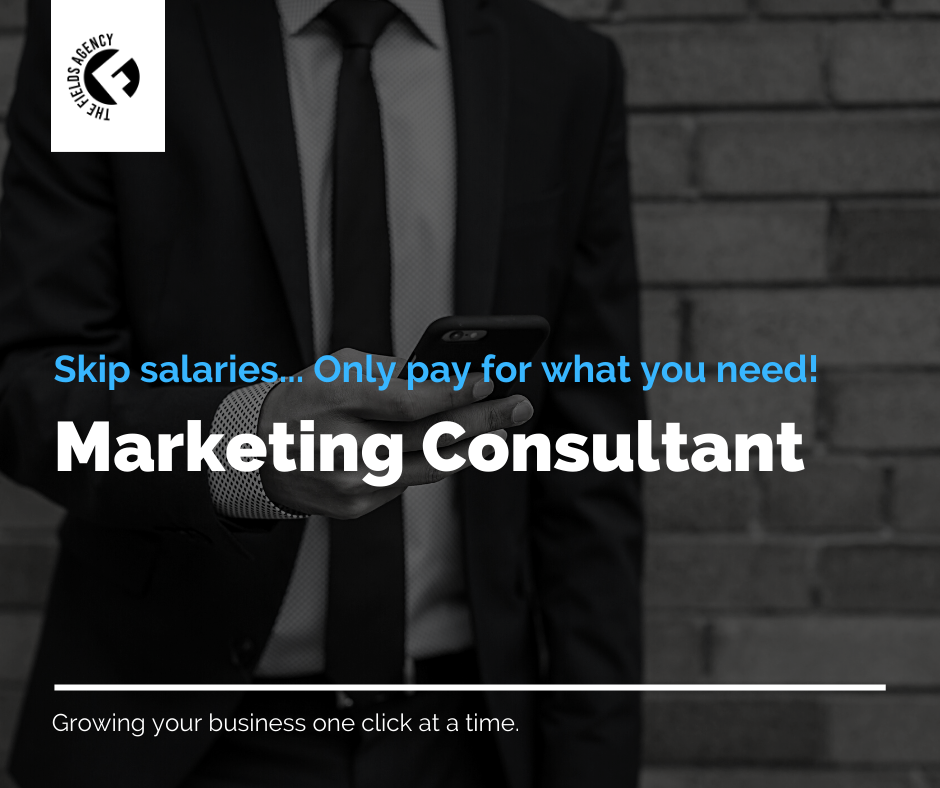 Marketing consultant blog post the field agency